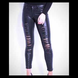 Metallic guess jeans